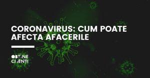 coronavirus cum poate afecta afacerile