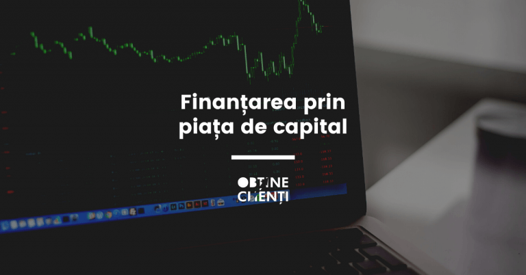 finantarea prin piata de capital pe un laptop